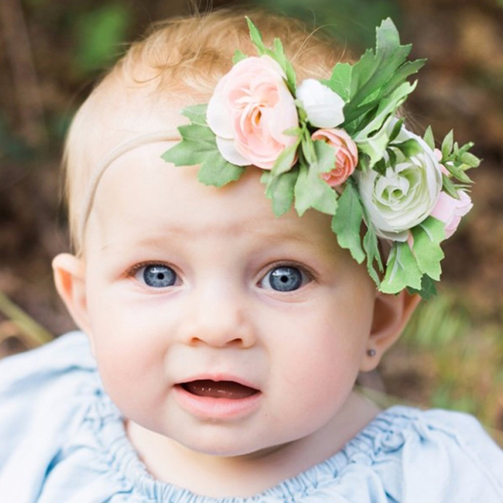 Baby Girls Hair Band Lace Cute Flower Toddler Headband Hair Accessories
