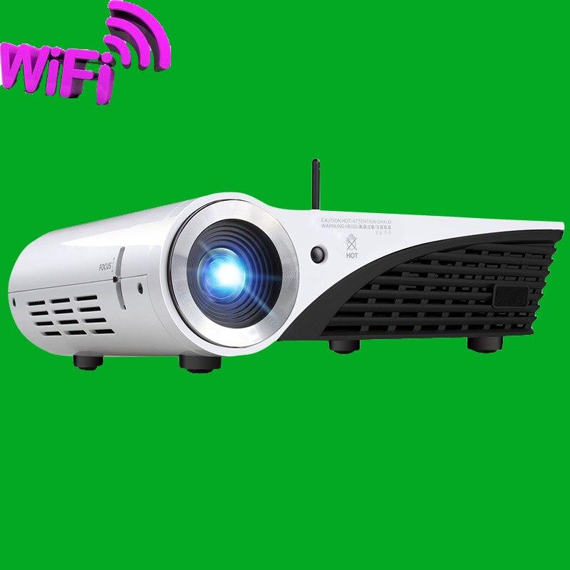 Windows10 3D4k inteligente llevó el proyector DLP 1280 x 800 / 5500 lumens / 800