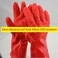 Кислоты, щелочи Перчатки Масло Restistant Перчатки Истиранию Рабочие Защитные Перчатки для Защиты Рук