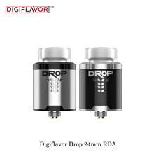 Elektronik Sigara Original Digiflavor Drop RDA Atomizer 24mm 810/510 drip tip option airflow Control rda 24 Vaporizer Vape Tank
