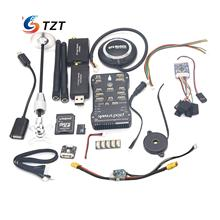 TZTPIX Pixhawk Fligtht Controller 32Bit+M8N GPS+3DR 433MHz/915Mhz+PPM+Galvanometer+4G Card Kit for FPV Quadopter Drone