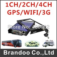 4 Channel Full D1 H.264 Car DVR for Vehicle Security+Motion Detection