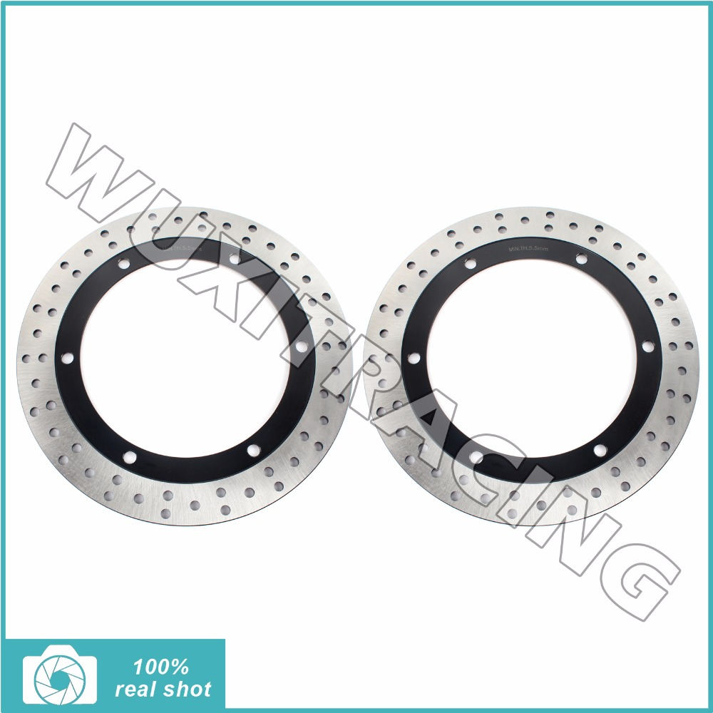 New Front Brake Discs Rotors for HONDA GL 1500 Goldwing A SE I Interstate 88-00 89 91 92 93 94 GLX 90-2000