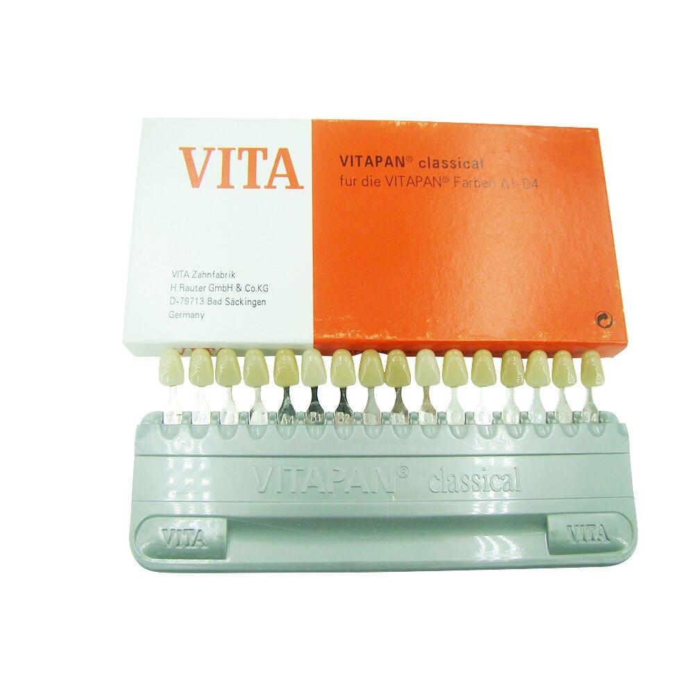 A0112 matériau dentaire vita modèle de couleur de dent
