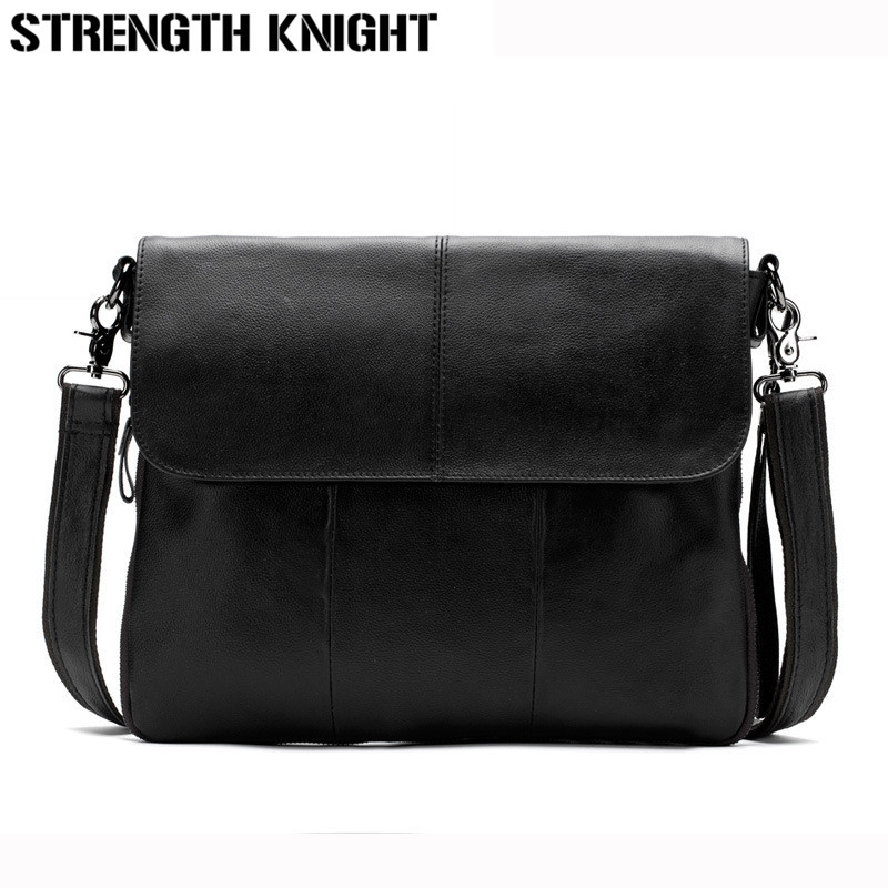 Genuine Leather Fashion Men Bags Men Messenger Bags Business Men's Travel Bag Man Leather Crossbody Shoulder Bag Handbags genuine leather men bag fashion messenger bags shoulder business men s briefcase casual crossbody handbags man waist bag li 1423