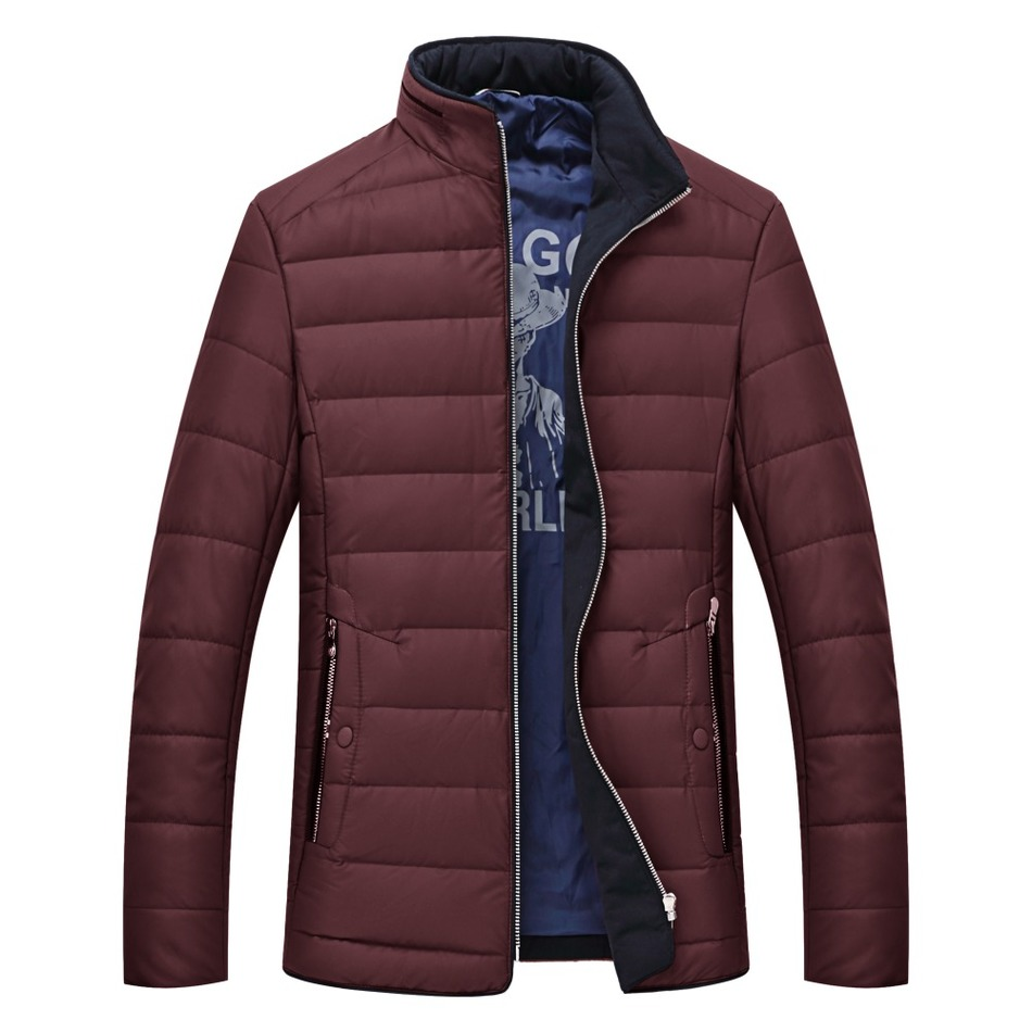 7XL Free shipping 2016 winter coat collar mens leisure plus-size down jacket nylon jacket to keep warm cotton-padded clothes