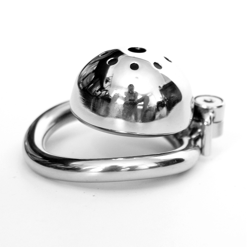 Screw Lock Male Chastity Device Stainless Steel Super Small Chastity Cage Penis Lock Cock Rings Sex Toys For Men Screw Lock Male Chastity Device Stainless Steel Super Small Chastity Cage Penis Lock Cock Rings Sex Toys For Men