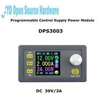 גרסה משודרגת DP30V3A אספקת חשמל לתכנות מודול באק ממיר המתח הנוכחי מד מתח תצוגת LCD DPS3003 50% הנחה