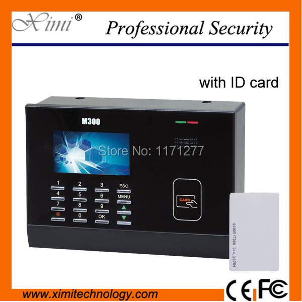 цены Hight quality 125KHz Card time attendace machine Standard TCP / IP large register capacity 100000 templates of record capacity