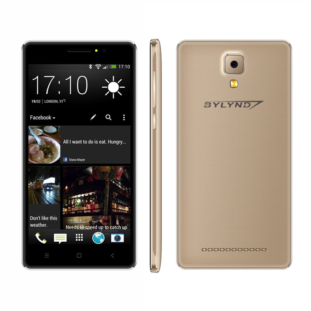 """cheap celular bylynd X5 Smartphones 5.0"""" MTK6580 front camera fill light Android 6.0 Mobile Phones Explosion-proof shell 3G"""