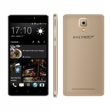 """Ucuz celular bylynd X5 Akıllı Telefonlar 5.0 """"MTK6580 ön kamera dolgu ışığı Android 6.0 Cep Telefonları patlamaya dayanıklı kabuk 3G"""