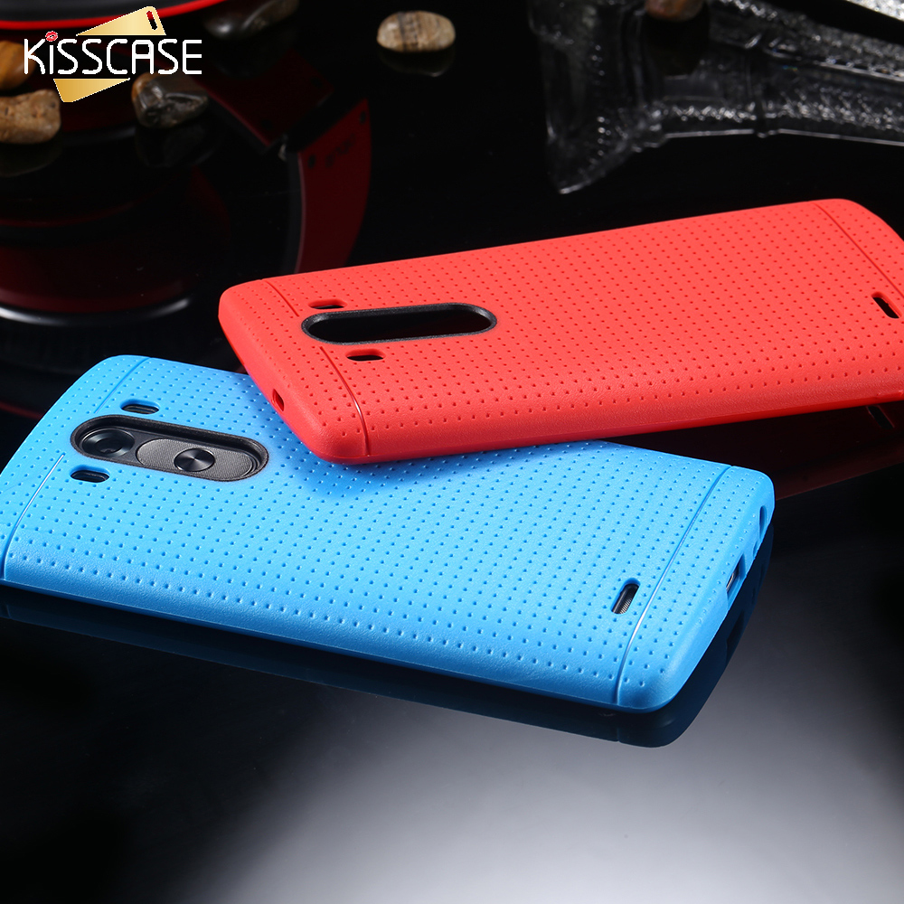 KISSCASE For LG G3 G4 G5 Cases Slim Silicon Case For LG G4 G5 For HTC One M9 M8 Heavy Duty Shock Proof Mobile Phone Cover Bag
