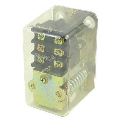 20A 135-175PSI 1-Port Adjustable Pressure Switch Valve for Air Compressor Pump ac240v 20a 175psi 12mm female thread 1 port 2nc air compressor pressure switch