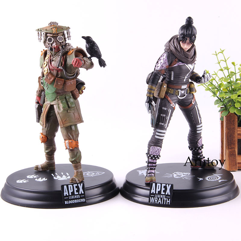 Hot Game <font><b>Apex</b></font> Legends Wraith / Bloodhound Figure Action PVC Collection Model <font><b>Toy</b></font> <font><b>Apex</b></font> Legends Gift For Friend image