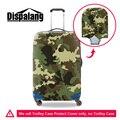 Dispalang S/M/L крышку тележки для багажа 3D камуфляж печати путешествия аксессуары мужская мода защитите чемодан охватывает оптовая
