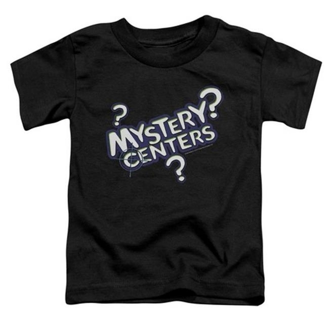 Trevco Dubble Bubble-Mystery Centers – Short Sleeve Toddler Tee – Black Large 4T