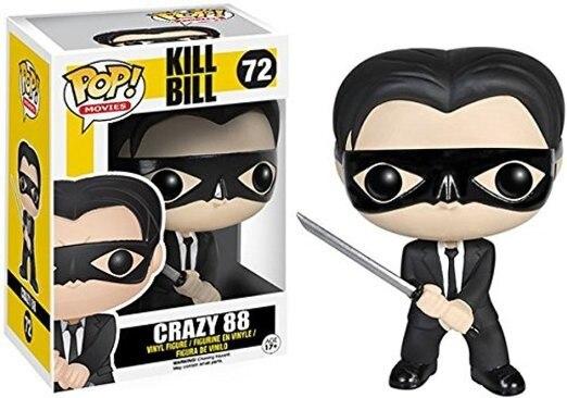 Original Funko pop Movies: Kill Bill – Crazy 88 Vinyl Action Figure Collectible Model Toy with Original box