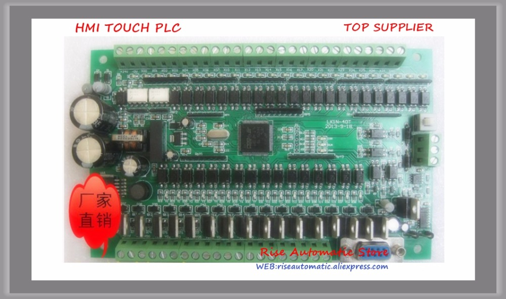 LK1N-40T Made in China PLC Industrial control board Online Download Monitor RS485 lk1n 20mr made in china plc board plc industrial control board online download monitor text