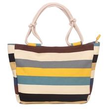 New fashion womens bags printed cloth European and American leisure Korea shopping portable canvas bag