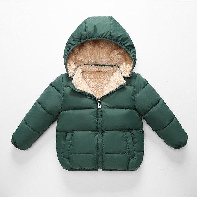 CROAL CHERIE Children's Parkas Winter Jacket For Girl Boys Winter Coat Kids Warm Thick Velvet Hooded Baby Coats Outerwear  (5)