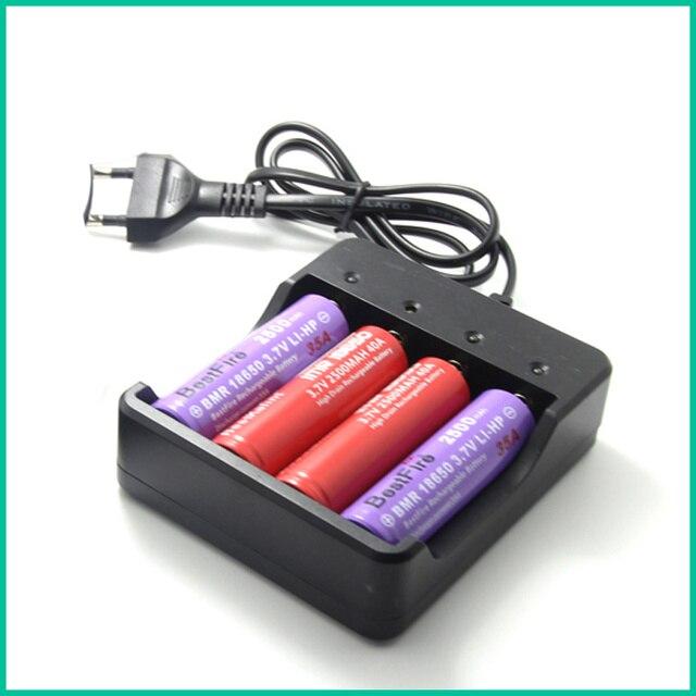 4 Slots Thông Minh Pin Sạc Thông Minh Cho Thuốc Lá Điện Tử Sạc 4X18650 lithium-ionBattery Chargercharging.