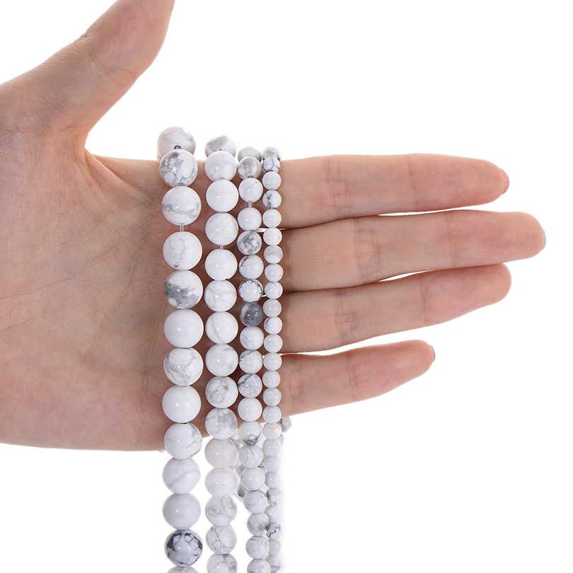 Runde Naturstein Perlen Matte Lava Tiger Auge Türkisen Verkrustete Schwarz Onxy Lose Stein Perlen für Armband Halskette Schmuck Machen DIY