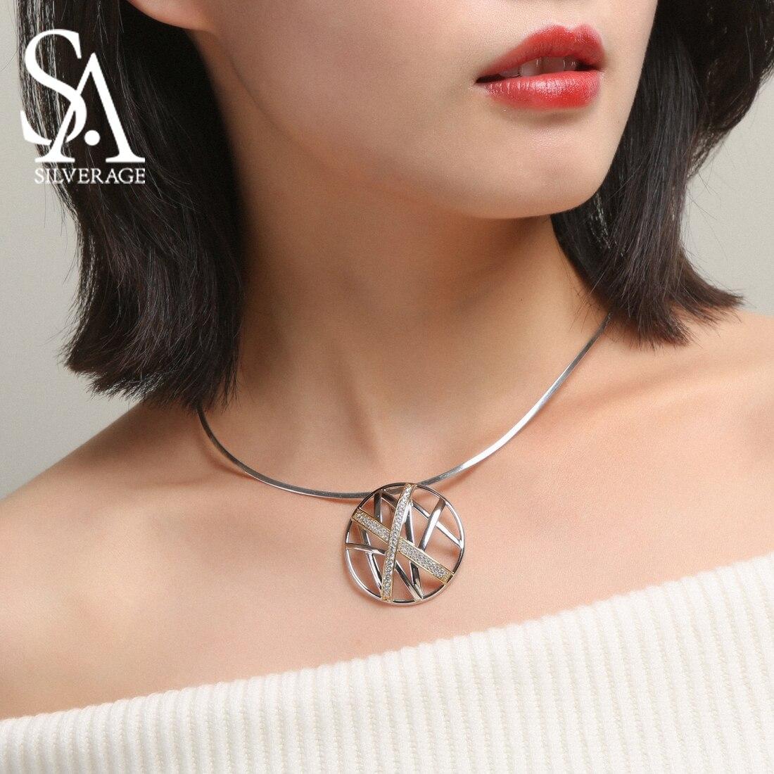 Mode femmes colliers bijoux collier pendentif femme 925 argent colliers nouveauté Choker colliers pendentifs pour femmes 2019