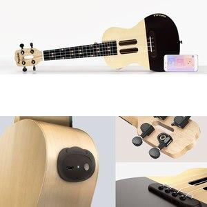 Image 4 - U1 ukelele de 23 pulgadas con 4 cuerdas, guitarra eléctrica acústica inteligente con aplicación Xiaomi, IOS, Android, hawaiana