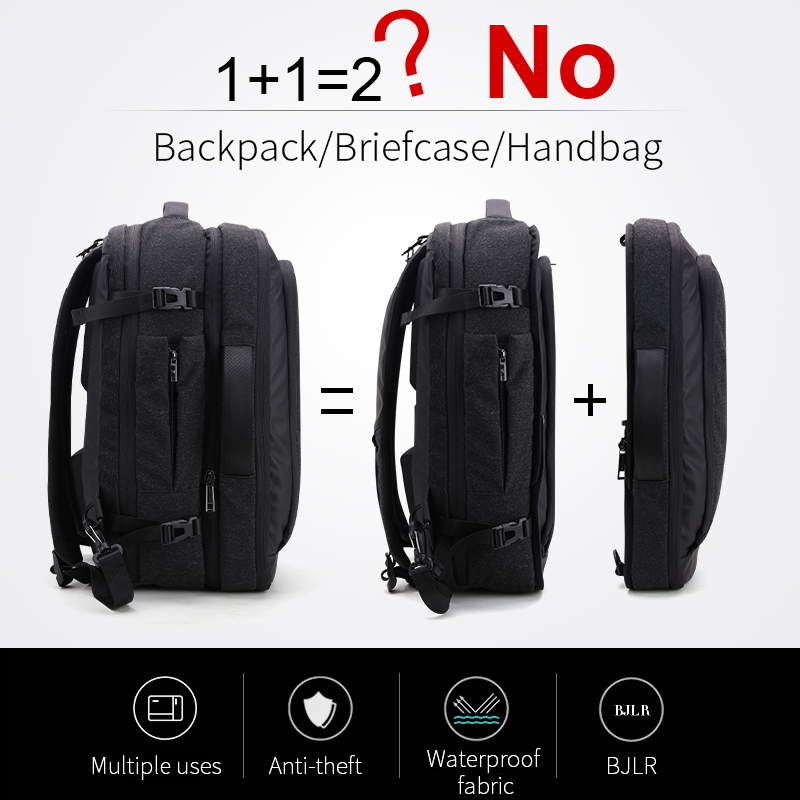 ARCTIC HUNTER Multifunction 17 inch Laptop Backpacks For Teenage Men Travel Backpack Bag Large Capacity Casual Vintage 2018 New-in Backpacks from Luggage & Bags