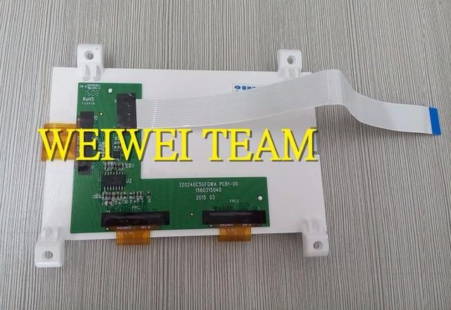New original For YAMAHA DGX 620 DGX620 DGX630 DGX640 LCD screen display module for Yamaha PSR S500 S550 S650 mm6