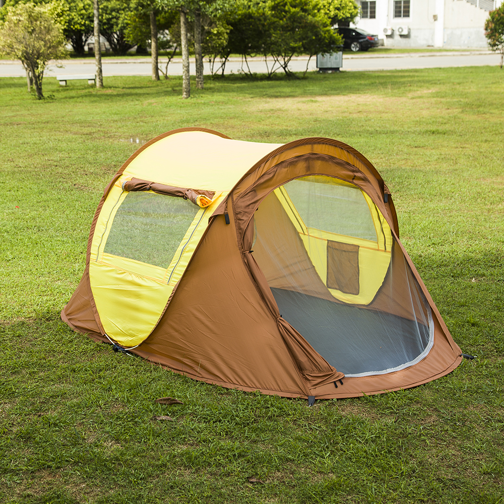 Aliexpress.com  Buy Instant Pop Up 3 4 Person TentSetup Fast Outdoor automatic tents Portable Carrying waterproof tent from Reliable 3-4 person tent ... & Aliexpress.com : Buy Instant Pop Up 3 4 Person TentSetup Fast ...