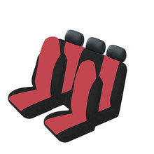 Hot sale Universal Car Seat Covers Breathable Washable Front Headrest Cover Ventilation and dust 2016