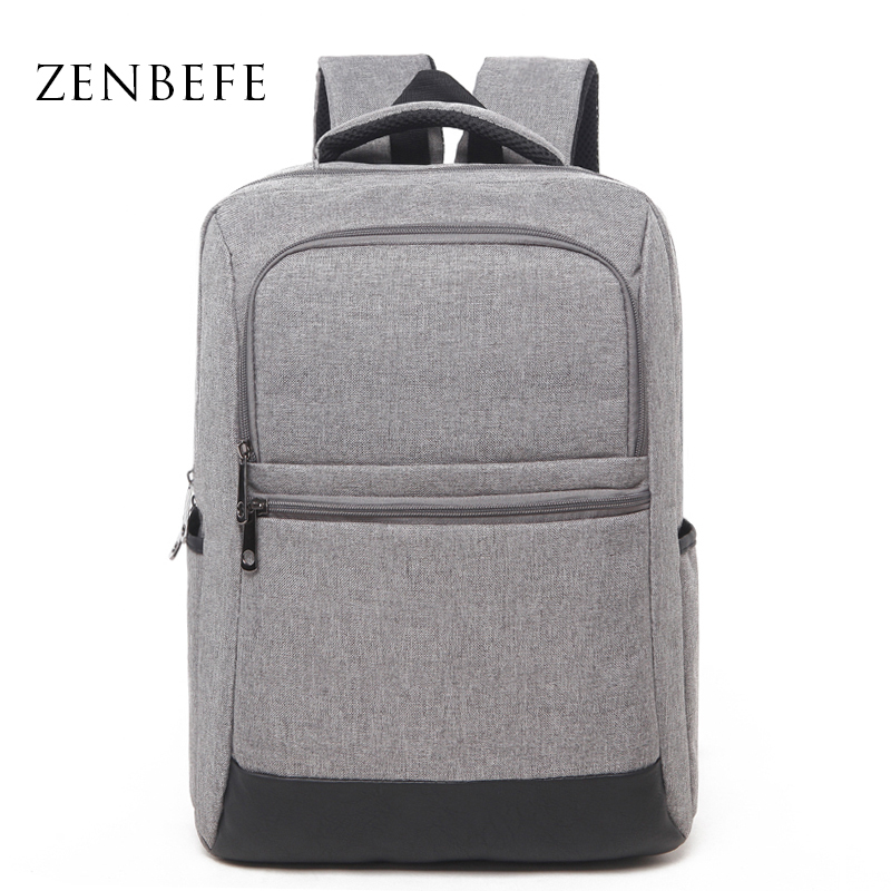 ZENBEFE Oxford Backpack Business Style Men Backpack Leisure Travel Bag School Bag For Teenager 15 Laptop Bags Casual Rucksack new gravity falls backpack casual backpacks teenagers school bag men women s student school bags travel shoulder bag laptop bags
