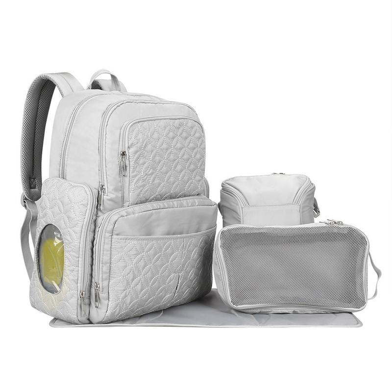 Luxe grande capacité maman maternité sac couche Nappy sac Bolsa Maternida Bebe sac voyage sac à dos Desiger soins infirmiers bébé