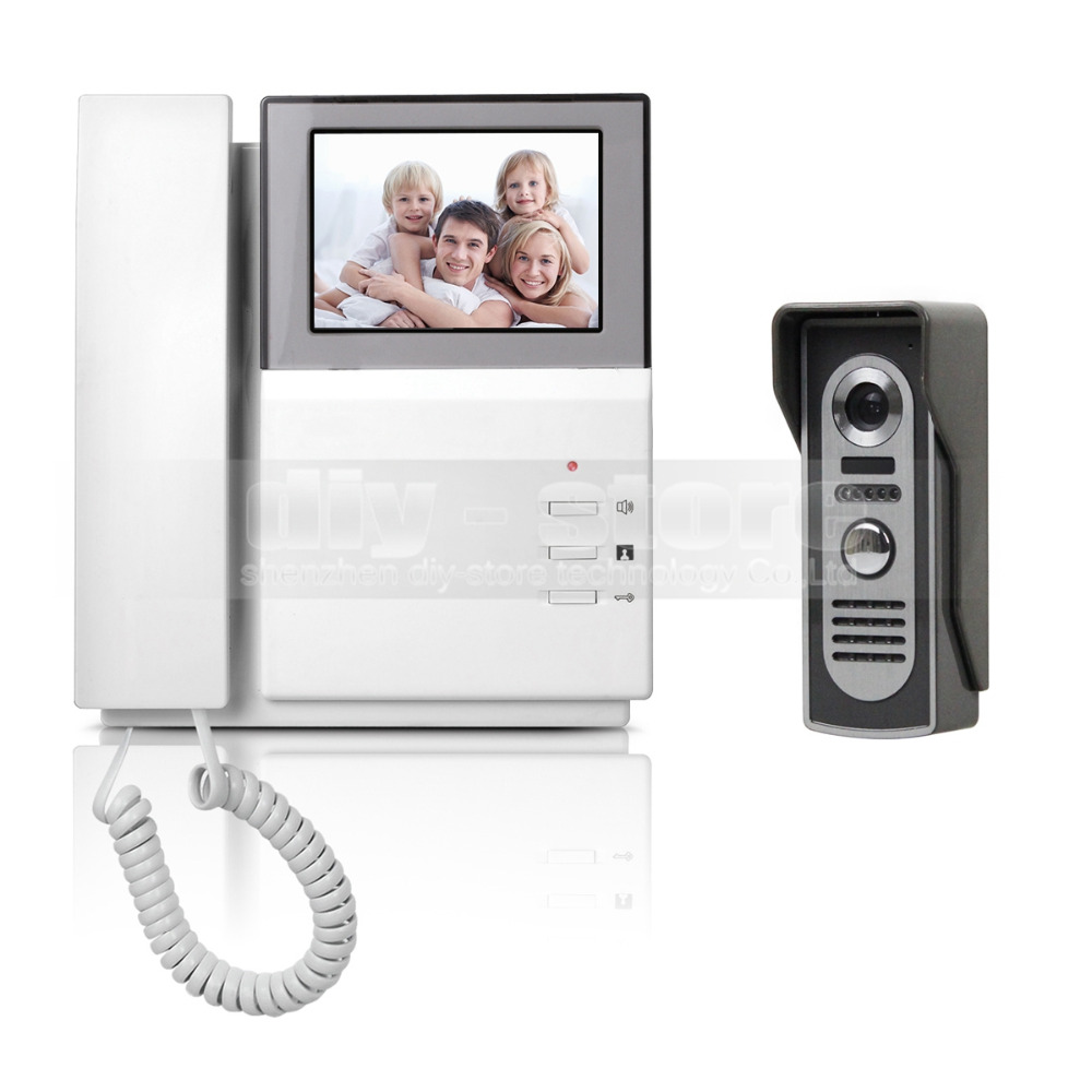 DIYSECUR Video Door Phone Video Intercom Doorbell 4.3inch HD Indoor Monitor + 600 TVLine IR Night Vision Outdoor Camera диван еврокнижка софия 2 флок