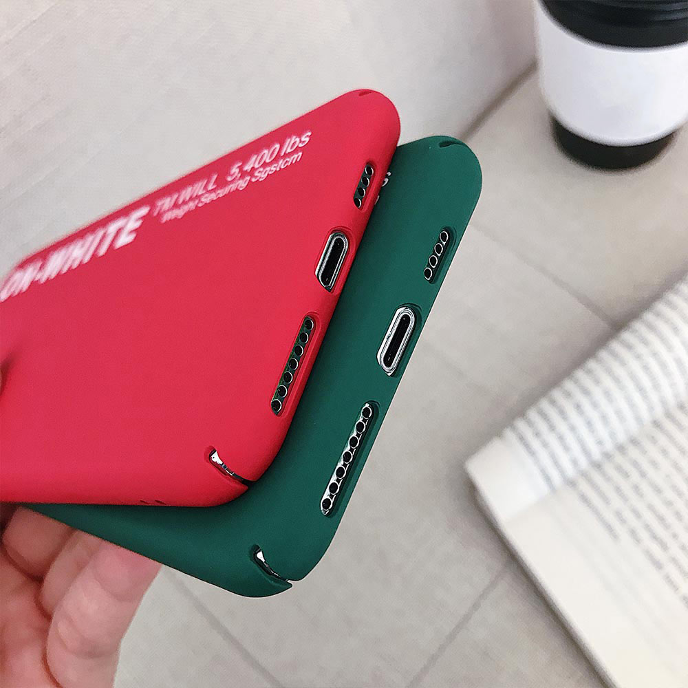 Image 4 - KISSCASE Letter Phone Case For Xiaomi Redmi Note 7 6 5 Pro Pocophone F1 Mi8 Mi A2 Lite 6X 5X A1 Mi9 SE Hard PC Back Cover-in Fitted Cases from Cellphones & Telecommunications