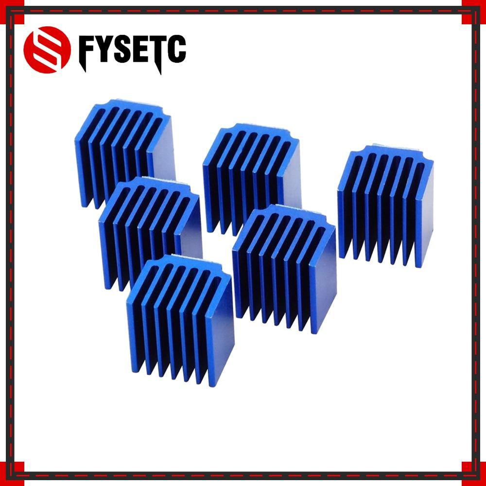 8pcs Blue Raspberry Pi Heatsinks Cooler Aluminum 15*14*13mm With Adhesive For Cooling Raspberry Pi 3 / 2 Model B LV8729/TMC2100