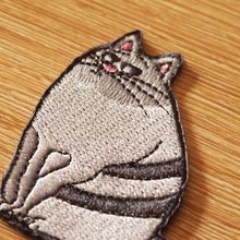 Prajna Animal Patch DIY Hook Loop Embroidered Patches For Clothing Iron on On Clothes Appliques Stripe