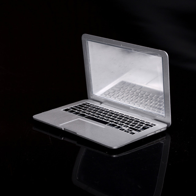 High Quality Mini mac makeup mirror for Apple notebook macbook air apple computer portable Creative mirror