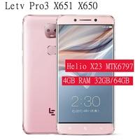 Letv Pro3 Ai LeEco Le Pro 3 X651 X650 Deca Core Mobile Phone 13.0MP Dual Back Camera smartphone 4GB RAM32GB/64GB ROM Cell phones