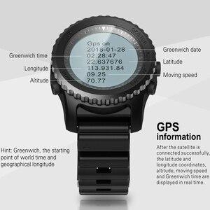 Image 5 - Greentiger reloj inteligente S968 para hombre, deportivo, resistente al agua, con GPS, control del ritmo cardíaco, podómetro, natación, reloj inteligente para exterior