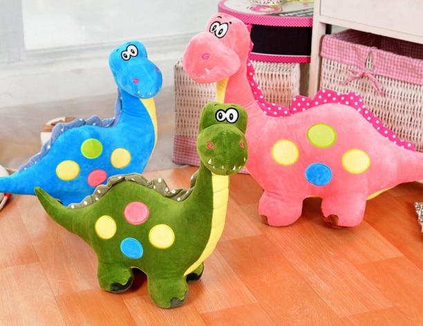 1pcs 50cm Dinosaur Plush Toy dinosaur Stuffed Animal Doll dinosaur pillow Children Ridding Toy Birthday Gift For Kids 40 30cm pusheen cat plush toys stuffed animal doll animal pillow toy pusheen cat for kid kawaii cute cushion brinquedos gift