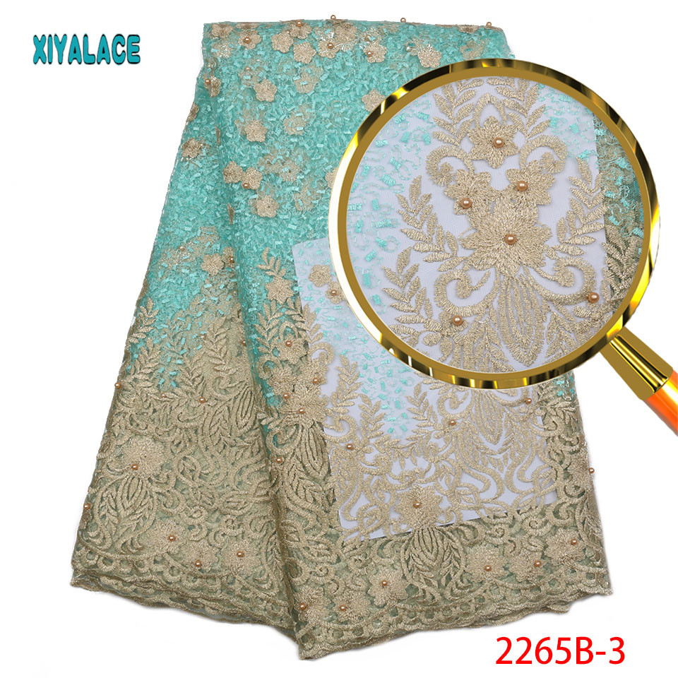 Tulle Lace Fabric High Quality African Women Lace Fabric Embroidery Cheap African Nigerian Lace Fabric For
