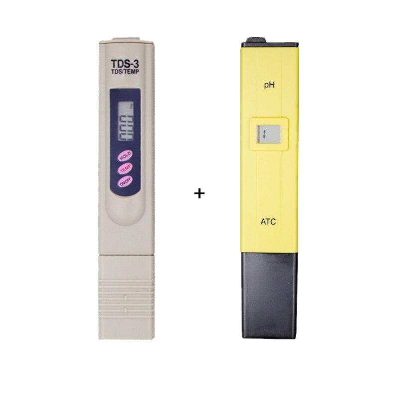 PH-009 IA 0.0 14.0ph pour Aquarium Piscine D'eau + TDS Mètre Mesurer la Qualité de L'eau Pureté Testeur calibrer par TENIR TEMP BOTTON 13% off