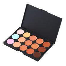 New Makeup 2017 Professional 15 Colors Eye Shadow Contour Palette Facial Camouflage Make Up Eyeshadow Pallete Cosmetics Set