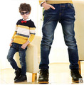2015 New Spring Autumn Children's Clothing Boys Baby Jeans Pants Kids Trousers Korean Version Retail 3-12Years Old Free Shipping