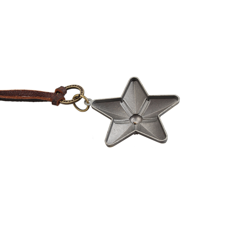 Bronze Star Men Women Long necklaces & pendants kolye Women leather Necklace collier collares choker colar femme necklace women