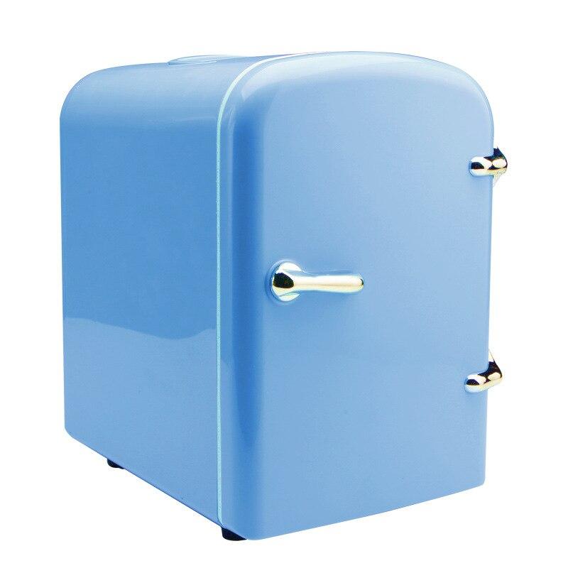 4L Portable Electric Car Fridge 110W 12V USB Cool & Thermostat Mini Refrigerator Compact Fishing Camping Caravan Fruit Freezer