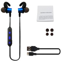 Stereo Bluetooth Earphone Sports Wireless SweatProof Bluetooth Headset Bass Earbuds With Mic For Phone iPhone Xiaomi original remax s8 wireless bluetooth earphone for iphone 7 xiaomi mi 5 wireless earpod sport stereo earbuds with mic auriculares
