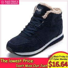 e877c6b204f Winter Laarzen Mannen Lederen Winter Schoenen Mannen Plus Size Tennis  Sneakers Voor Winter Enkellaars Mannelijke Warm